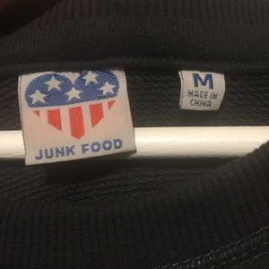 Junk Food Clothing Tops - JUNKFOOD Monopoly Game Graphic Pullover
